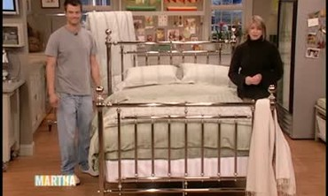 Josh Duhamel Makes the Bed