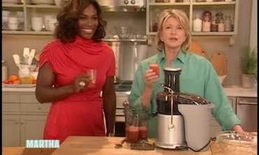 Juice with Serena Williams