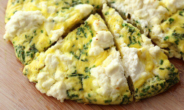 Ricotta and Chive Frittata