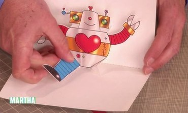 Robot Pop-Up Card How-To