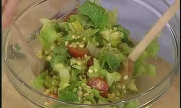 Romaine Avocado Corn Salad