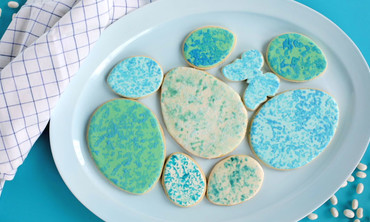 Sponge Speckled Egg Cookie