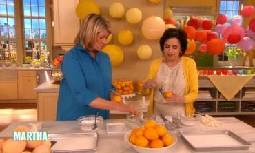 Sugared Lemon Centerpieces