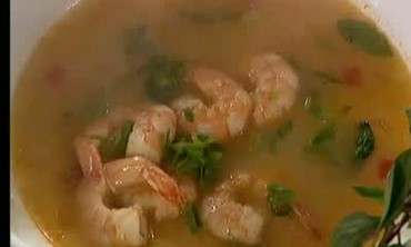 Thai Curry and Shrimp Soup