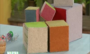 Adorable Felted Wool Blocks