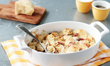 Baked Tortellini with Bacon