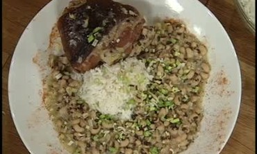 Black Eyed Peas Brunch Dish