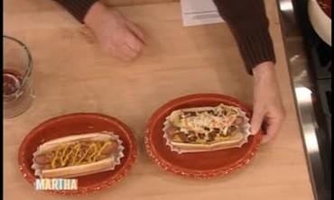 Bulldog Hot Dogs with Chili
