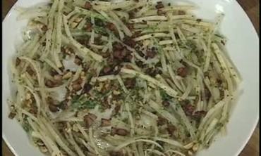 Celery Root and Fennel Slaw