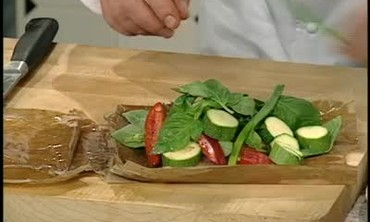 Chicken Cooked en Papillote