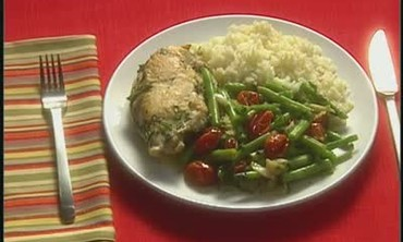Chicken, Vegetables, and Rice