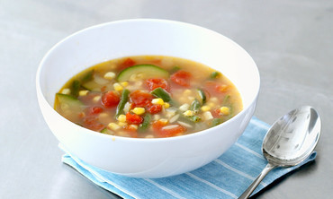 Late-Summer Vegetable Soup Recipe
