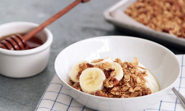 Crunchy Honey-Pecan Granola