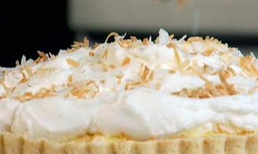 Coconut Cream Tart