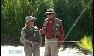 Fly Fishing with Ted Turner