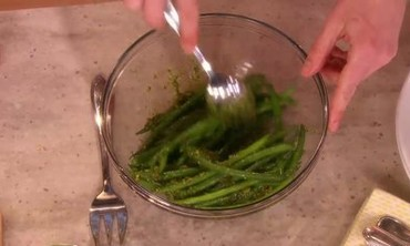 Haricots Verts with Pesto