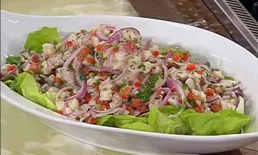 Honduran Sea Bass Ceviche