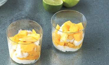 Mango-Lime Ricotta Parfaits