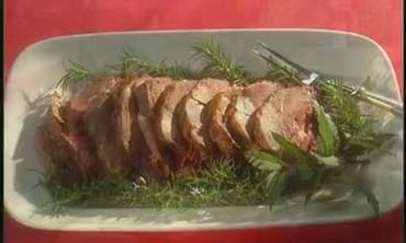 Marinated Roast Leg of Lamb