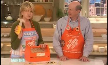 Martha Meets The Home Depot