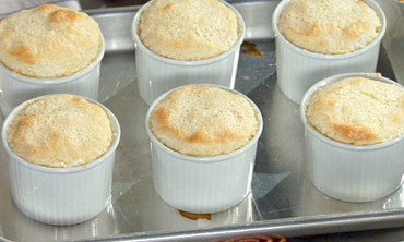 Georgia Peach Souffles