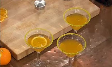 Orangecello Martinis Recipe