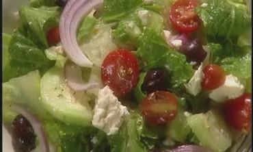 Romaine Lettuce Greek Salad