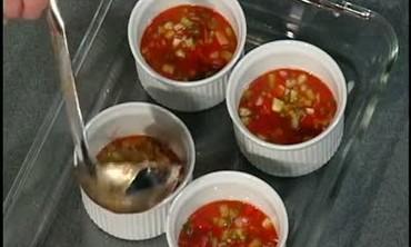 Spicy Gazpacho Aspic, Part 1