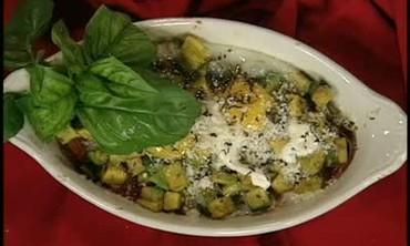 A Brunch Dish Using Avocados