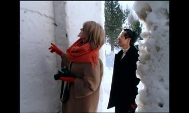 A Unique Snowy Art Gallery