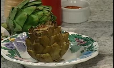 Artichokes, Baked and Stuffed