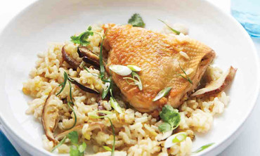 Asian-Style Chicken and Rice