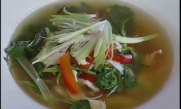 Asian Chicken and Chili Soup
