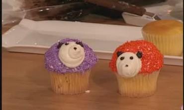 Decorative Hedgehog Cupcakes