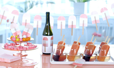 DIY Champagne Popsicle Party!