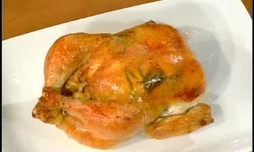 Emeril Bakes Stuffed Chicken