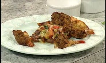 Emeril's Baked Stuffed Shrimp