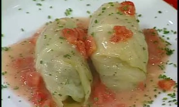Galumpkis or Stuffed Cabbage