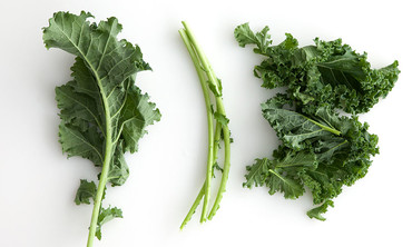 How to Stem Cooking Greens