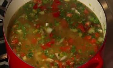 Italian Cennellini Bean Soup