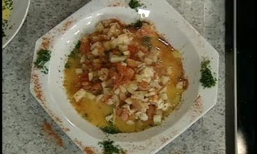 Lobster Chowder with Chevril