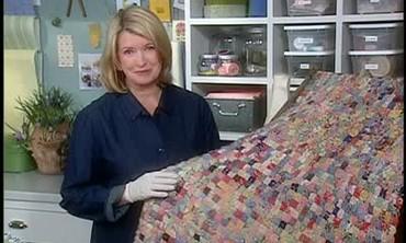 Martha Stewart Makes A Quilt