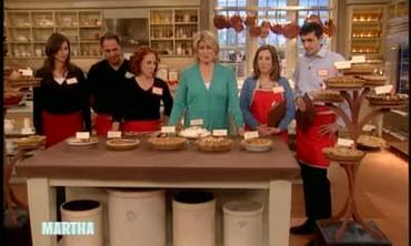 Martha Stewart's Pie Bake Off