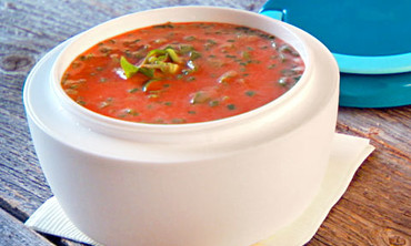 Cold Tomato-Buttermilk Soup
