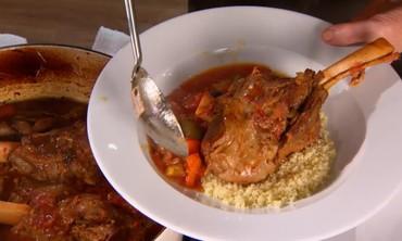 Moroccan Braised Lamb Shanks