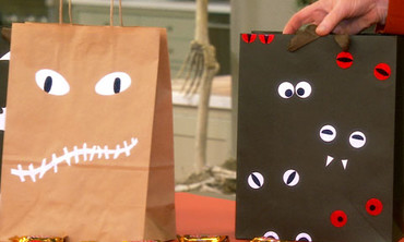 Home Depot Tip: Reflective Trick-or-Treat Bags