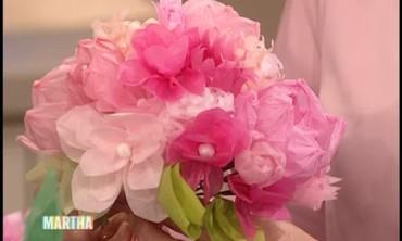 Watch More Videos From DIY Wedding Ideas & Video: Easy Paper Flower Wedding Decorations   Martha Stewart