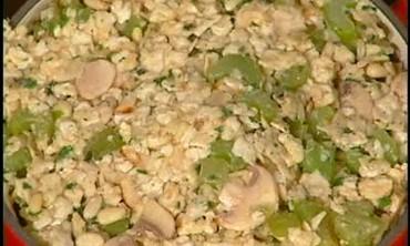 Passover Creole Farfel Kugel