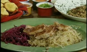 Pork Loin and Cabbage Dinner