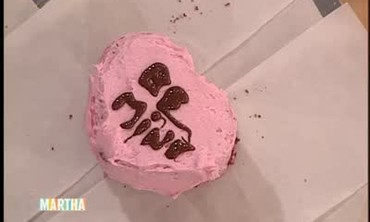 Red Velvet Heart Cake, Part 2